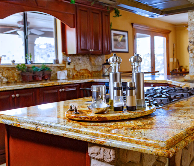 Lovely Granite Countertops   Piedras Mundiales | The Stone Center | Granite  Countertops, El Paso TX